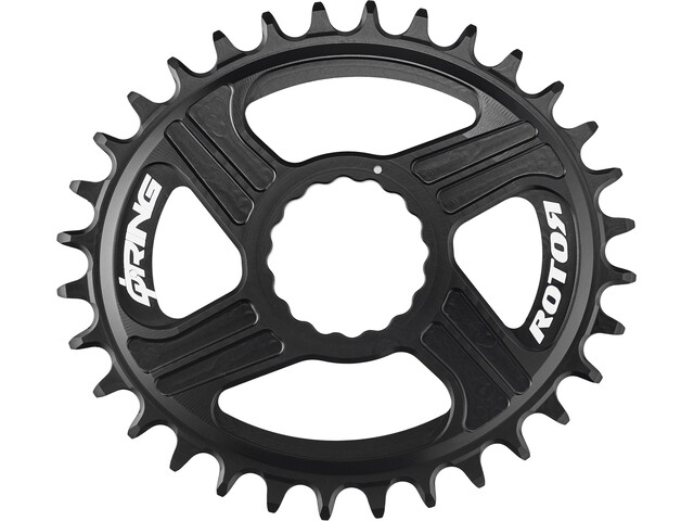 Rotor Q-Ring MTB Direct Mount Chain Ring Race Face Cinch, black